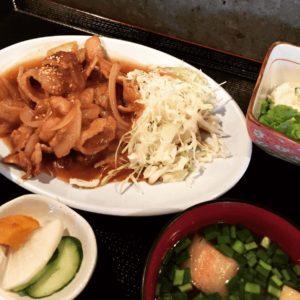 月曜日の生姜焼き